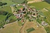 Letecký snímek Hrazánky z r. 2014