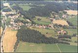 Letecký snímek Hrazany z r. 1999