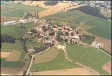 Letecký snímek Hrazánky z r. 1999